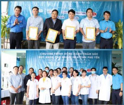 Trao quà, khám bệnh và phát thuốc miễn phí cho 250 người dân xã vùng sâu, vùng xa tỉnh Phú Yên